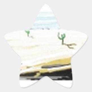 desert star sticker