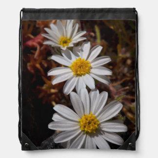 Desert Star Wildflowers Drawstring Bag