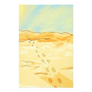 Desert Stationery Design