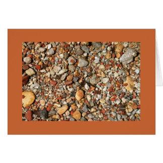 Desert Stones under Water Card