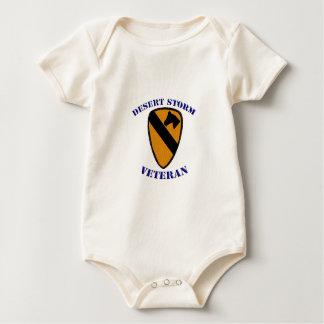 Desert Storm  1st Cav No BG-1.jpg Baby Bodysuit