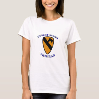 Desert Storm  1st Cav No BG-1.jpg T-Shirt