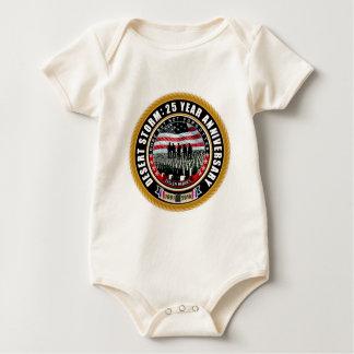 Desert Storm 25 Baby Bodysuit