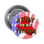 Desert Storm ARMY Veteran 2 Inch Round Button
