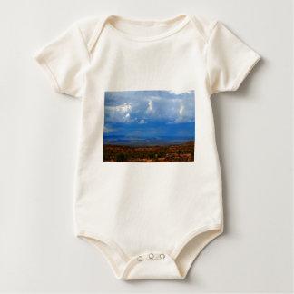 Desert storm baby bodysuit