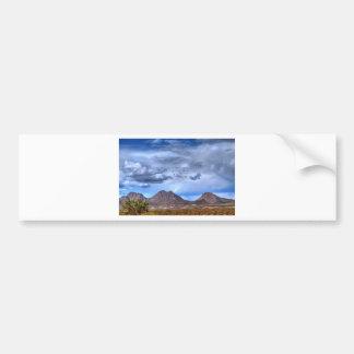 Desert Storm Car Bumper Sticker