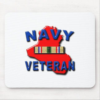 Desert Storm Campaign Ribbon, NAVY Mouse Pad