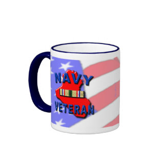 Desert Storm Campaign Ribbon, NAVY Coffee Mugs