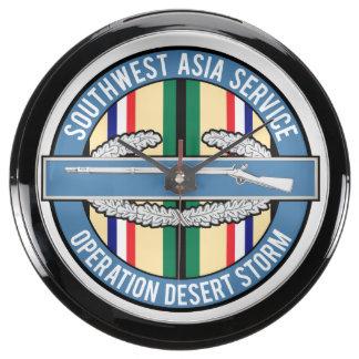 Desert Storm CIB Aquavista Clock