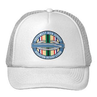 Desert Storm CIB Trucker Hat