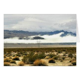 Desert Storm & Low Clouds Card