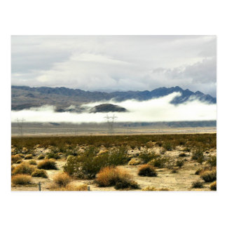Desert Storm & Low Clouds Postcard