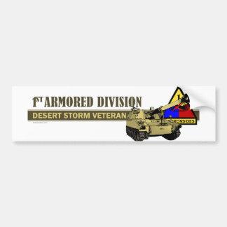 Desert Storm Vet [M-109] Car Bumper Sticker