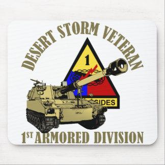 Desert Storm Vet [M-109] Mouse Pad