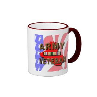 Desert Storm Veteran Service Ribbon, ARMY Mugs