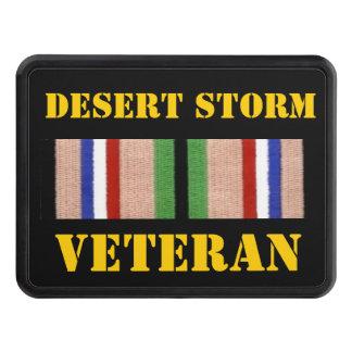 DESERT STORM VETERAN TRAILER HITCH COVER