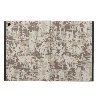 Desert Style Digital Camouflage Decor Cover For iPad Air