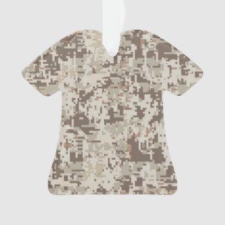 Desert Style Digital Camouflage Decor Ornament