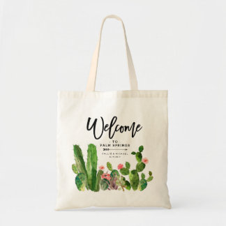 Desert Succulent Cactus Wedding Welcome Bag
