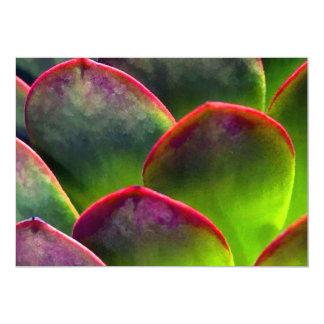 Desert Succulent in Bright Sun and Shade Custom Invites