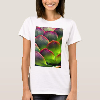 Desert Succulent in Bright Sun and Shade T-Shirt