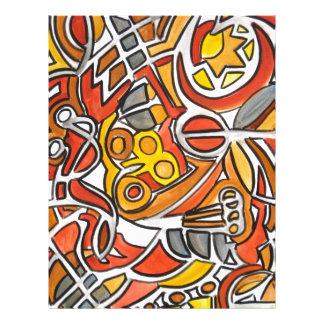 Desert Sun - Abstract Art Geometric Flyer