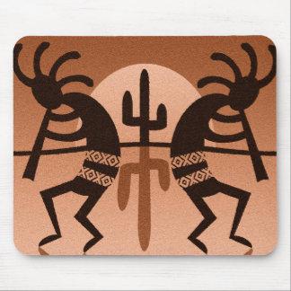 Desert Sun Cactus Kokopelli Southwest Mouse Pad