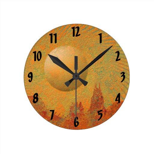 Desert Sun Clock