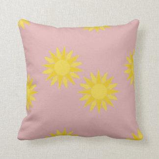 Desert Sun! two Throw Pillow
