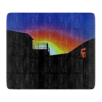 Desert Sunrise Cutting Board