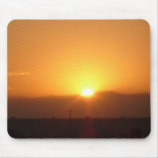 desert sunrise mouse pad