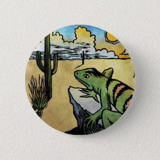 Desert Sunrise Pinback Button