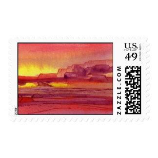 Desert Sunrise Postage