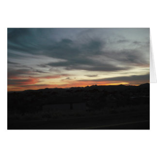 Desert Sunset Cards