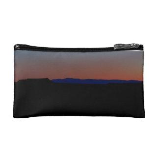 Desert Sunset color block Makeup Bag