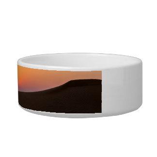 Desert sunset in Dubai Bowl