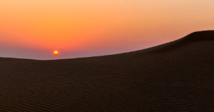 Dubai business card holders cases zazzle desert sunset in dubai business card case reheart Choice Image