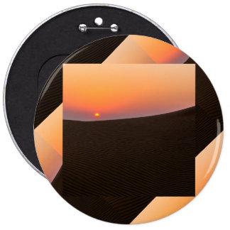 Desert sunset in Dubai Pinback Button