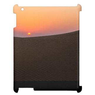 Desert sunset in Dubai iPad Covers