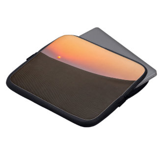 Desert sunset in Dubai Laptop Sleeve