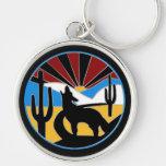 Desert Sunset Keychain