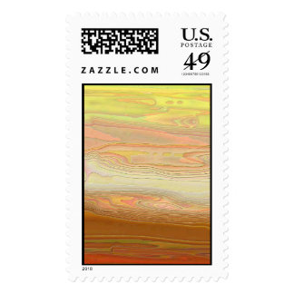 Desert Sunset Postage Stamps