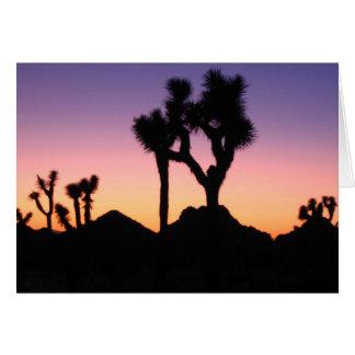 Desert Sunset Stationery Note Card