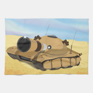 Desert Tank Kitchen Towel