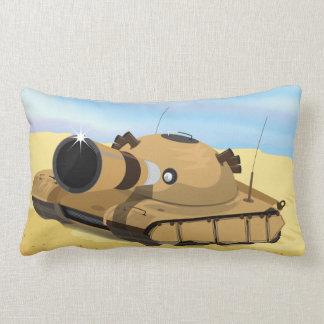 Desert Tank Throw Pillow