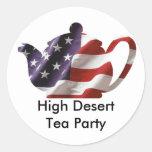 Desert Tea Party Sticker