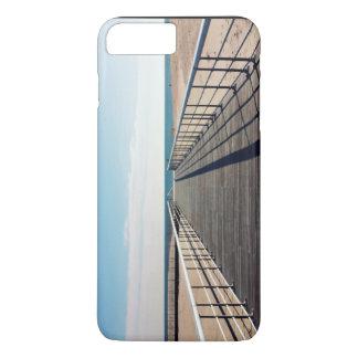 Desert Themed, Long Highway Bridge Over Desert Und iPhone 7 Plus Case
