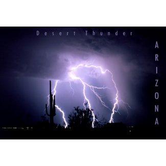 Desert Thunder print