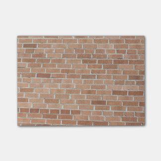 Desert Tones Brick Wall Post-it® Notes