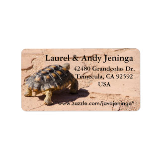 Desert Tortoise Address Labels